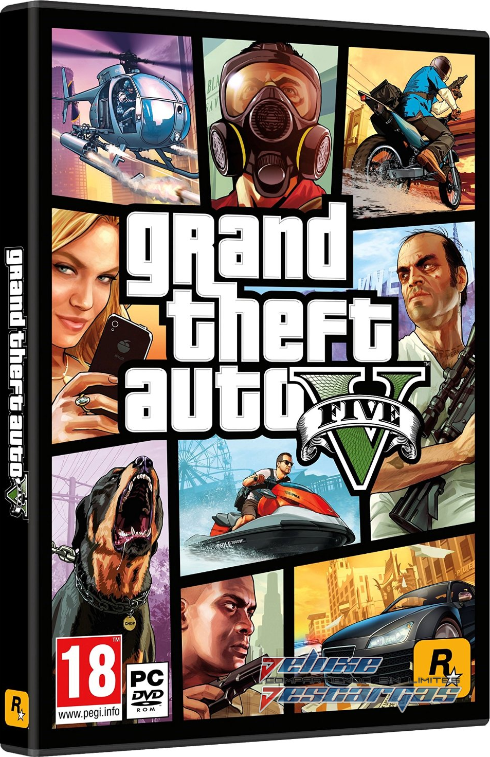 Descargar Grand Theft Auto V Multi Espa 241 Ol Full Game