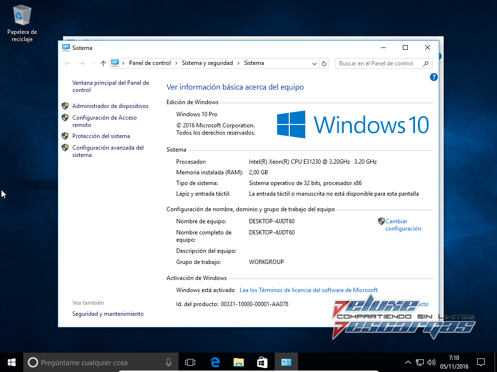 Windows 10 Pro 1607