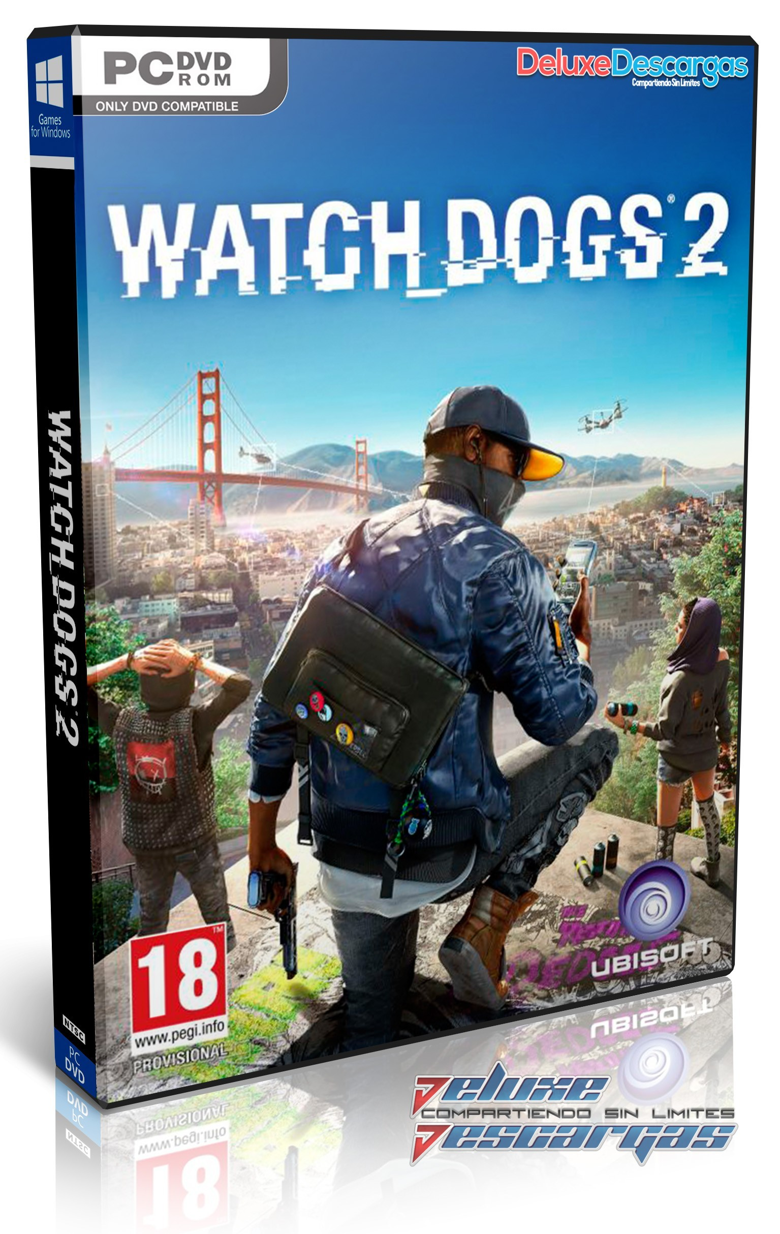Descargar Watch Dogs 2 Multi Espa 241 Ol Full Game