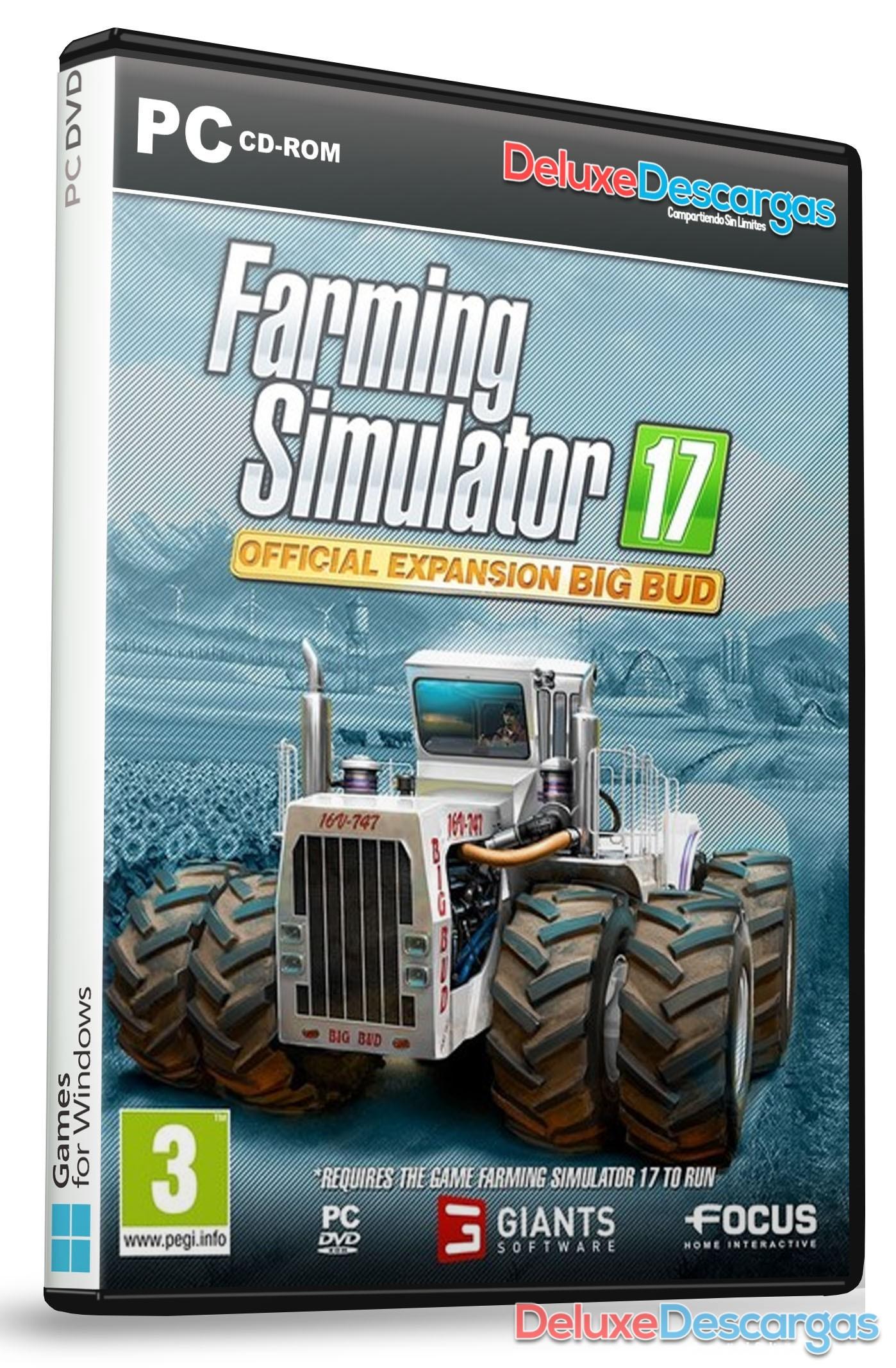 Descargar Farming Simulator 17 Big Bud Pack Multi Espa 241 Ol