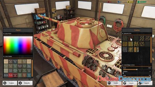 Tank Mechanic Simulator (2020) PC-Game Español