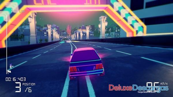 Electro Ride The Neon Racing (2020) (Full PC Game Español)