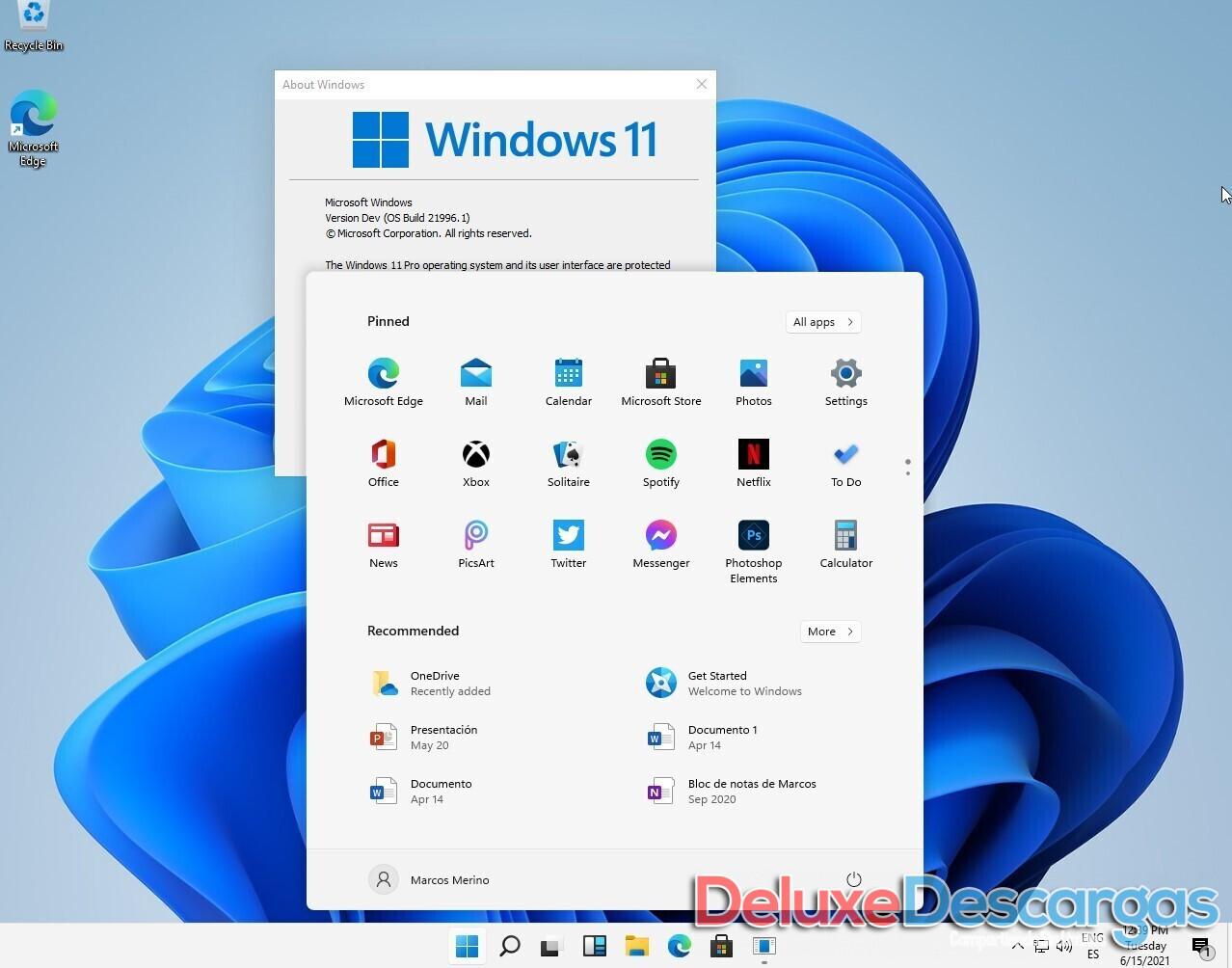 Windows 11 Consumer Edition x64   ISO Filtrada
